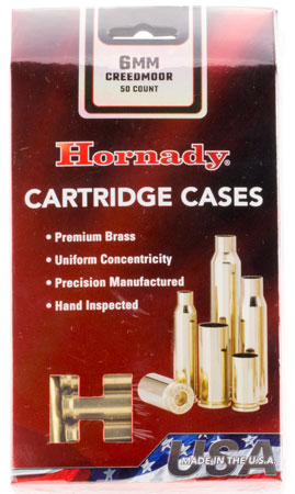 Hornady - Unprimed Cases - 6mm Creedmoor for sale