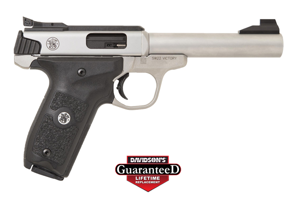 "S&W SW22 VICTORY TARGET 5.5"" ADJ. 10-SHOT STAINLESS POLYMER - for sale"