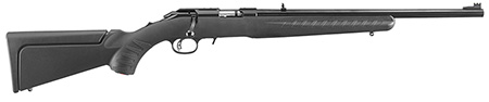 "RUGER AMERICAN COMPACT .22LR 10-SHOT 18"" MATTE BLACK * - for sale"