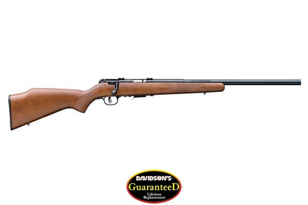 "SAVAGE 93R17-GV .17HMR 21"" HB ACCU TRIGGER BLUED/HARDWOOD - for sale"