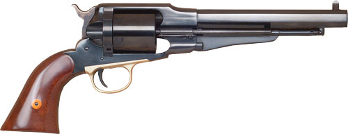"CIMARRON 1858 NEW MODEL ARMY .38SP FS 7.5"" CC/BLUED WALNUT - for sale"