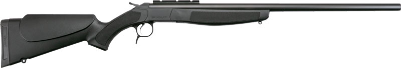 "CVA SCOUT .450 BUSHMASTER 25"" BLUED/BLACK - for sale"