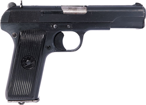 ZASTAVA M57 PISTOL 7.62X25 1-9RD BLUED REFURBISHED - for sale