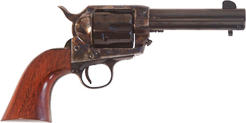 "CIMARRON FRONTIER .44/40 WIN. OM FS 4.75"" CC/BLUED WALNUT - for sale"